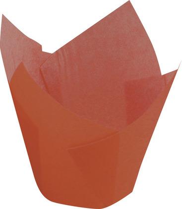 Papilotka tulipan brązowy – 5x8 cm