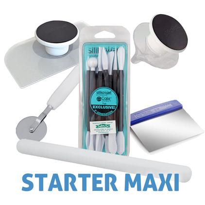 Starter Maxi - akcesoria do masy cukrowej - pakiet