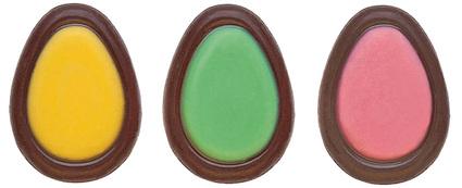 Jajka wielkanocne czekoladowe 3 cm - 270 szt.