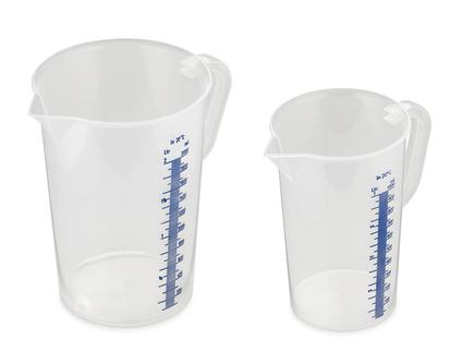 Miarka 0,5 l plastikowa