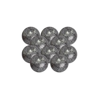Perły czekoladowe – srebrne – 180 g