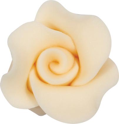 Róża cukrowa 2,5 cm - 22 szt.